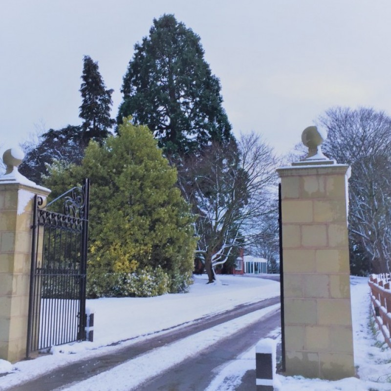 Winter at Tern Hill Hall